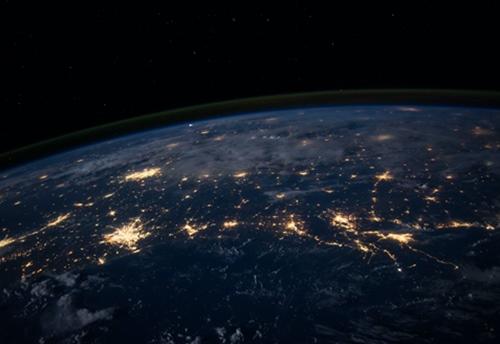 Pogled na Zemlju iz svemira